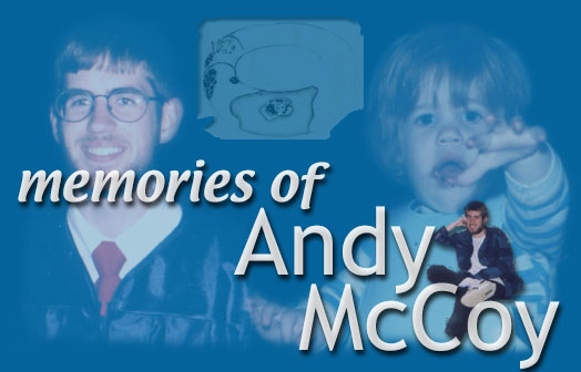In Memory of Andy McCoy